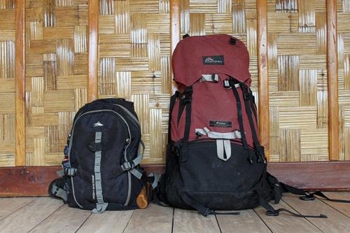 Mochila clásica con mochila de día