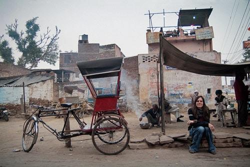 Barrio musulmán de Agra