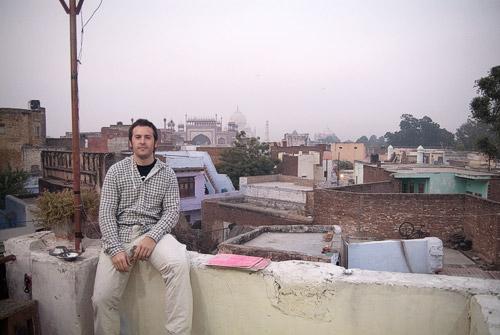 Toni y Taj Mahal - Fotógrafa: Carme