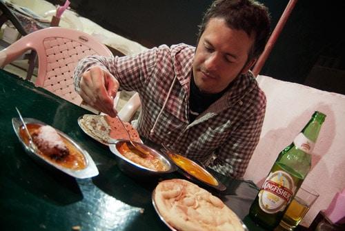 La riquísima comida india