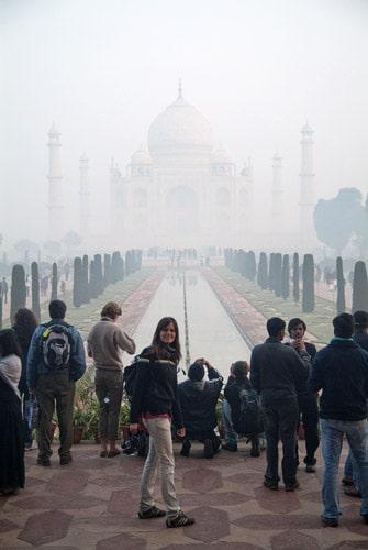 Impresionante Taj Mahal