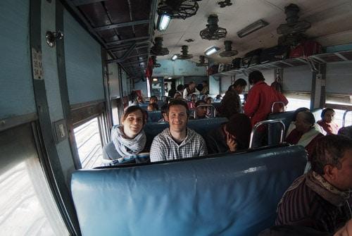 En el tren dirección Jhansi