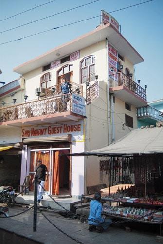 Nuestra nueva guesthouse en Orchha