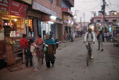 Calle de Taj Ganj