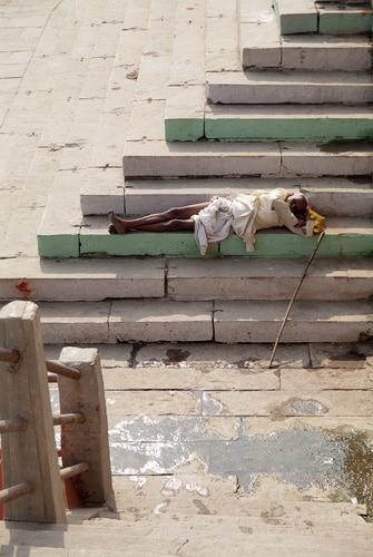 El descanso del sadhu