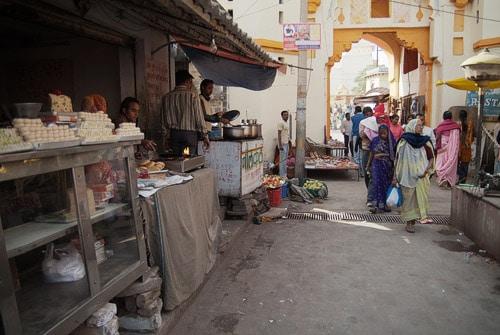 Mercado de Orchha