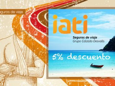 5% Descuento directo en IATI seguros de viaje (y opiniones)