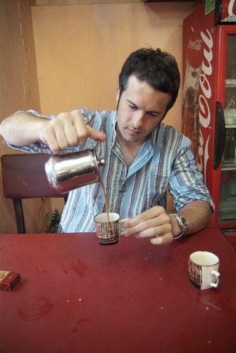 Máxima concentración con el chai...