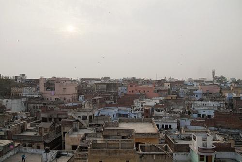 Vistas de Varanasi desde las alturas