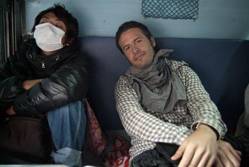 Toni y su compañero japonés