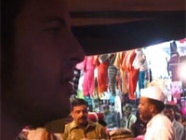 Vídeo 35 viaje a India – En rickshaw a la estación de trenes de Varanasi. Tremendo caos…
