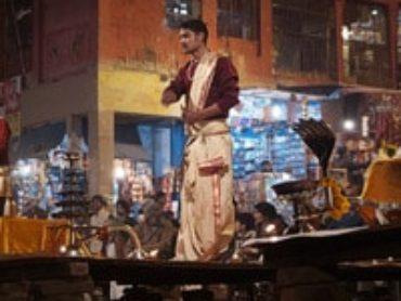 Ceremonia Ganga Aarti en Dasaswamedh Ghat de Varanasi