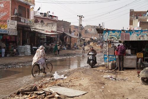 El barrio donde se encuentra Naya Nagar