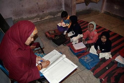 Las aulas de los más pequeños