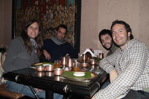 La cena con Carlos y Guillermo, dos tíos geniales!