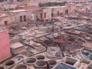 Vídeo 5 viaje a Marruecos – Visita a la zona de tintoreros y curtidores de piel Marrakech