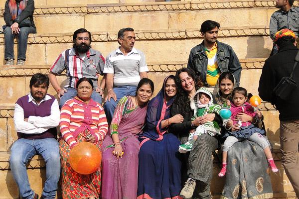 Itinerario de viaje a India: Sabela en Jaisalmer