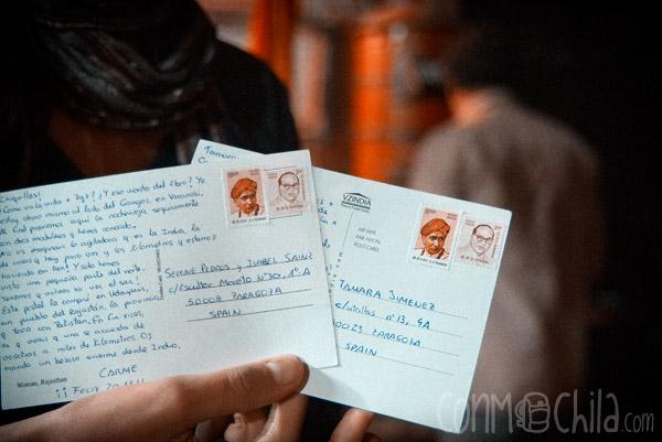Prueba 1: las postales