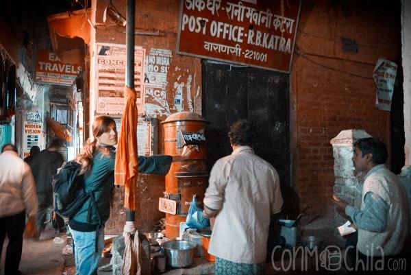 Prueba 2: Las estoy dejando en un buzón de Varanasi, que conste!