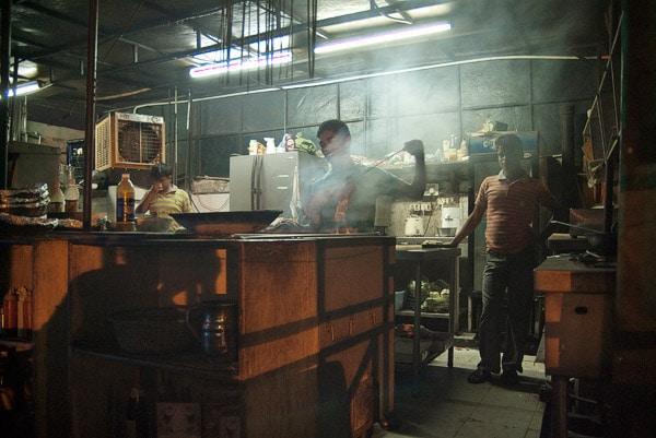 La cocina del Club India café