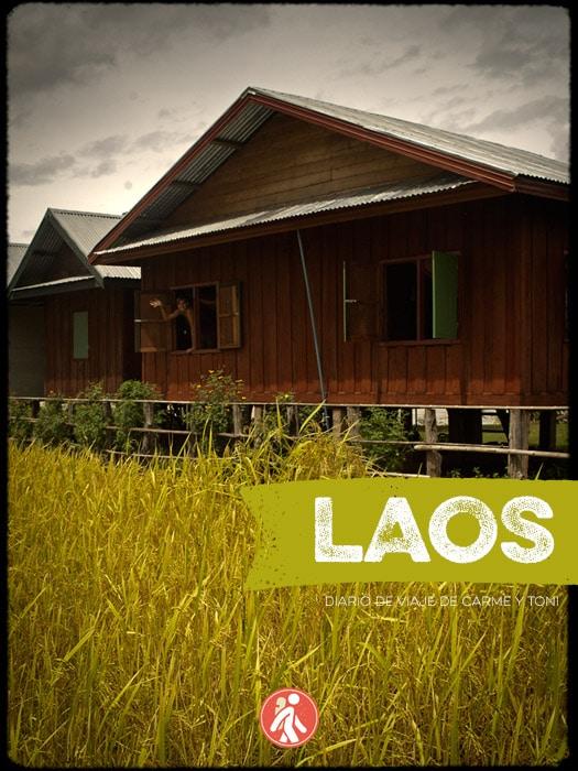 Portada del libro Laos con mochila