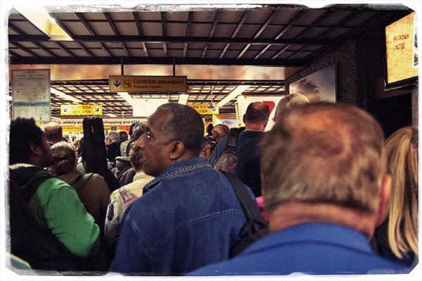 Espera en el aeropuerto de Antananarivo...