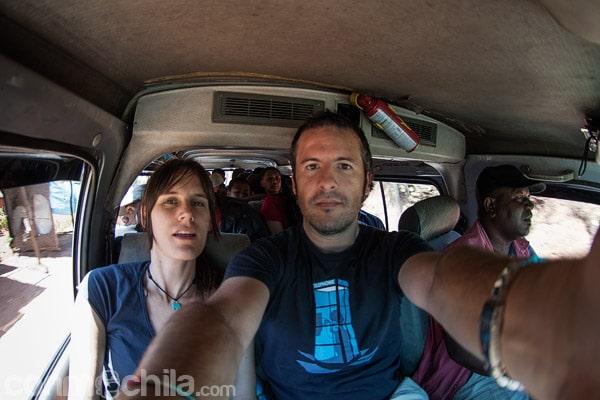 El primer taxi-brousse que cogimos
