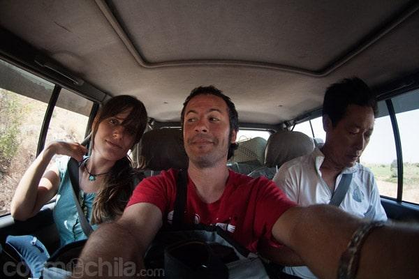Junto con Bobby, nuestro amigo de Shangai