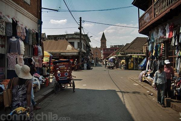 Calles de alrededor del petit marché