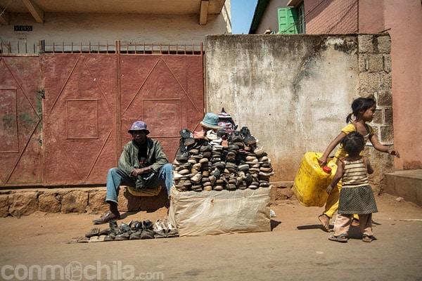 Vendedor de zapatos