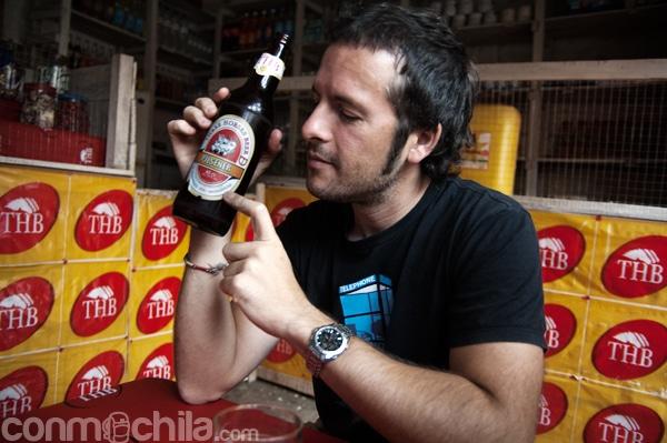 Cerveza....