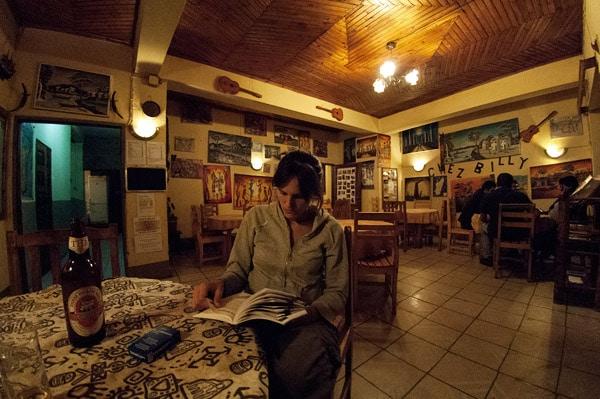 El restaurante en la planta baja de Chez Billy