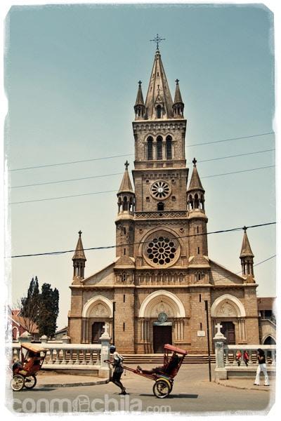 La gran catedral de Antsirabe