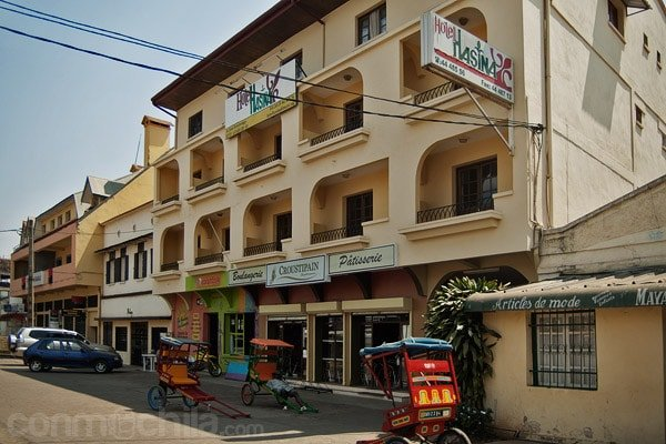 Fachada del hotel Hasina en Antsirabe