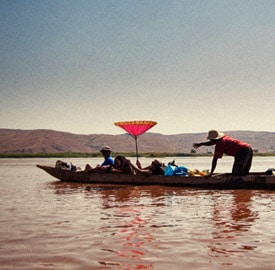 Curiosidades del río Tsiribihina Madagascar