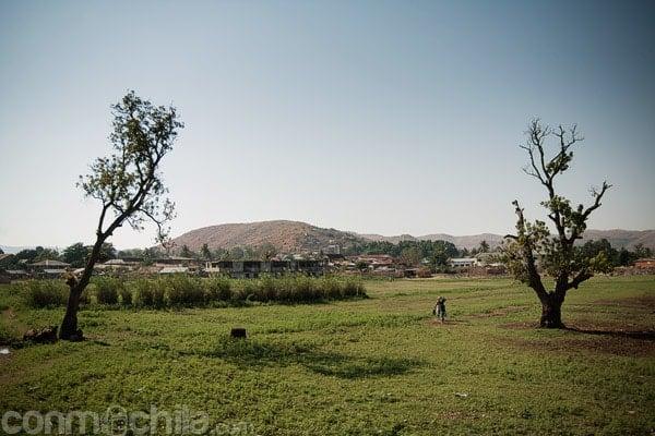 Paisaje cercano al río Tsiribihina