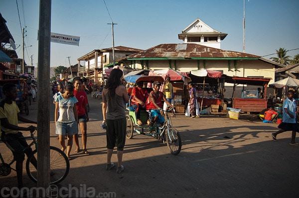 Cruce de calles en Miandrivazo
