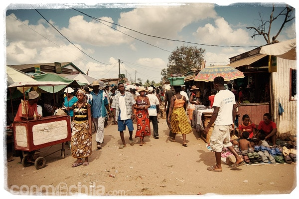 El mercado de Belo Sur Tsiribihina
