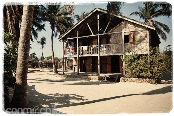 Nuestra casita de madera en la playa