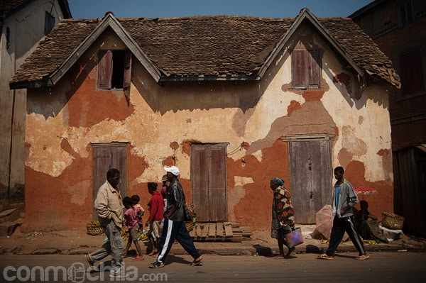 Casas típicas en Ambositra