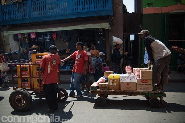 Transporte de mercancías en el mercado