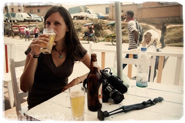 Cerveza por aquí