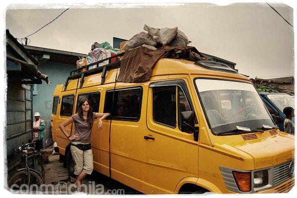 La dichosa furgoneta