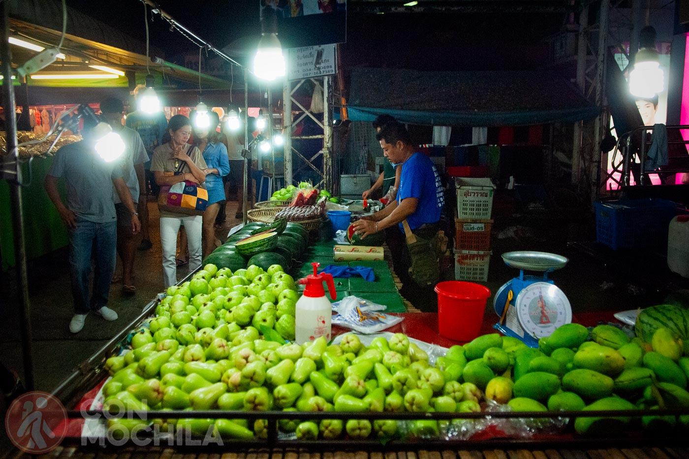 Fruta, fruta y más fruta