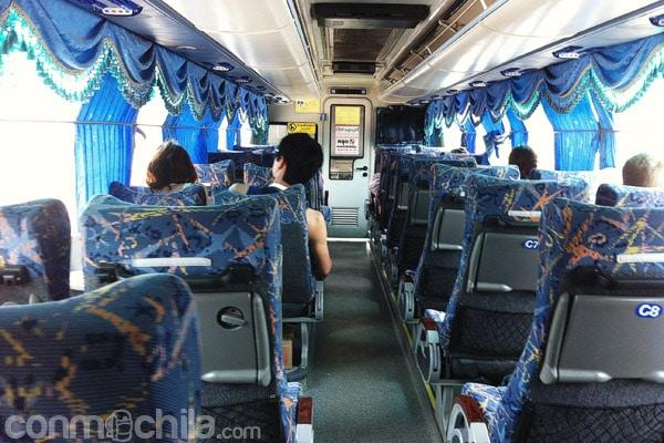 El autobús hasta la frontera