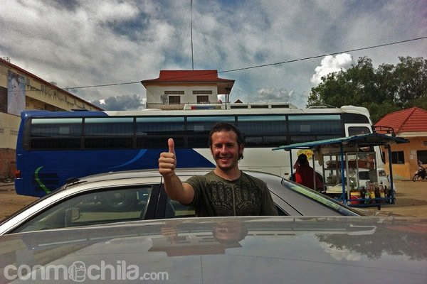 Ya tenemos taxi hasta Siem Reap