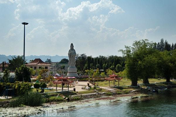 Detalle de la pagoda