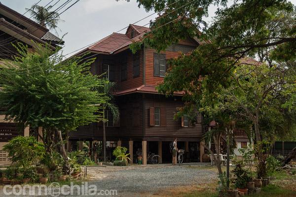 La gran casa de madera