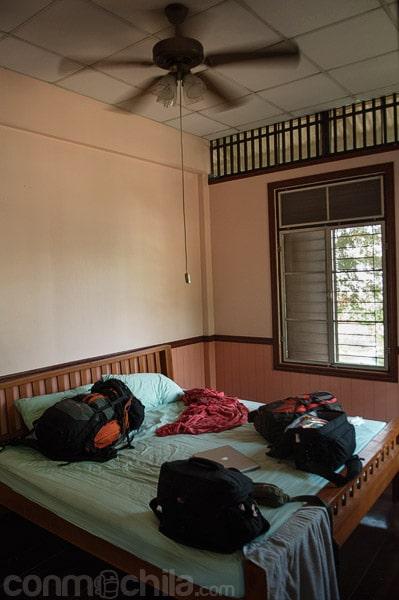 Nuestra cómoda y amplia habitación