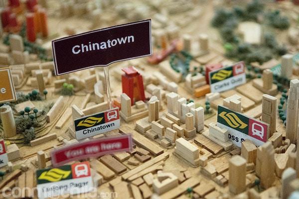 Barrio Chinatown de Singapur